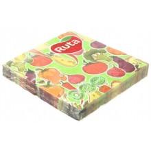Салфетки сервировочные Ruta ароматизированные, 33×33 см, 20 шт., «Кухня микс»