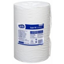 Полотенца бумажные Grite (в рулоне), 1 рулон, ширина 200 мм, белые