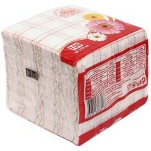 Салфетки сервировочные «Семья и комфорт», 24×24 см, 100 шт., «Клетка»