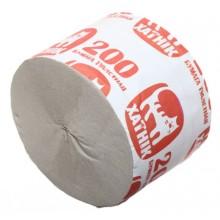 Бумага туалетная «Хатник», 1 рулон, ширина 85 мм, «200», серая