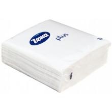Салфетки сервировочные Zewa Plus, 33×33 см, 100 шт., белые
