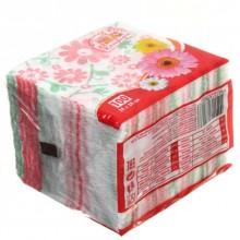 Салфетки сервировочные «Семья и комфорт», 24×24 см, 100 шт., «Цветок»