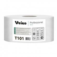Бумага туалетная Veiro Professional Basic,  450 м, серая