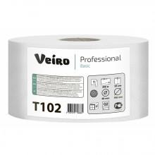 Бумага туалетная Veiro Professional Basic,  200 м, серая